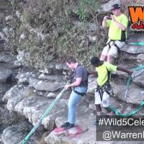 JHB Comedian, Warren Robertson takes part in the #Wild5CelebChallenge