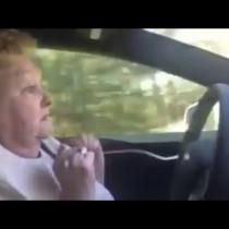 Granny's hilarious reaction