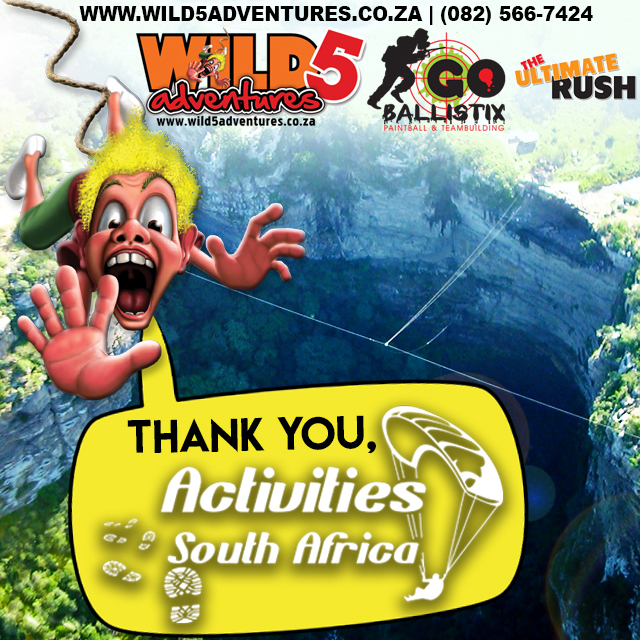 06-03 Thank you Activities South Africa